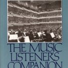 The Music Listener's Companion by Jay D. Zorn 0136080685