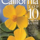 California Top 10 Garden Guide by Sunset Books 0376035293