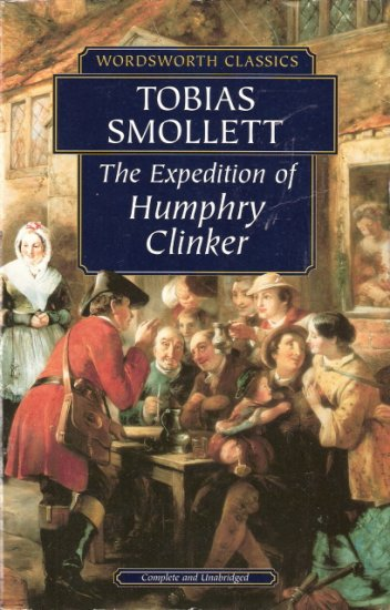 The Expedition of Humphry Clinker by Tobias Smollett  1853262706