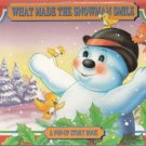 What Made the Snowman Smile A Pop-up Storybook by Grandreams