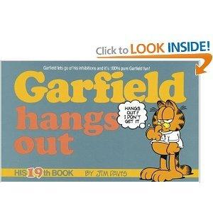 Garfield Hangs Out Book 19 Jim Davis 0345368355