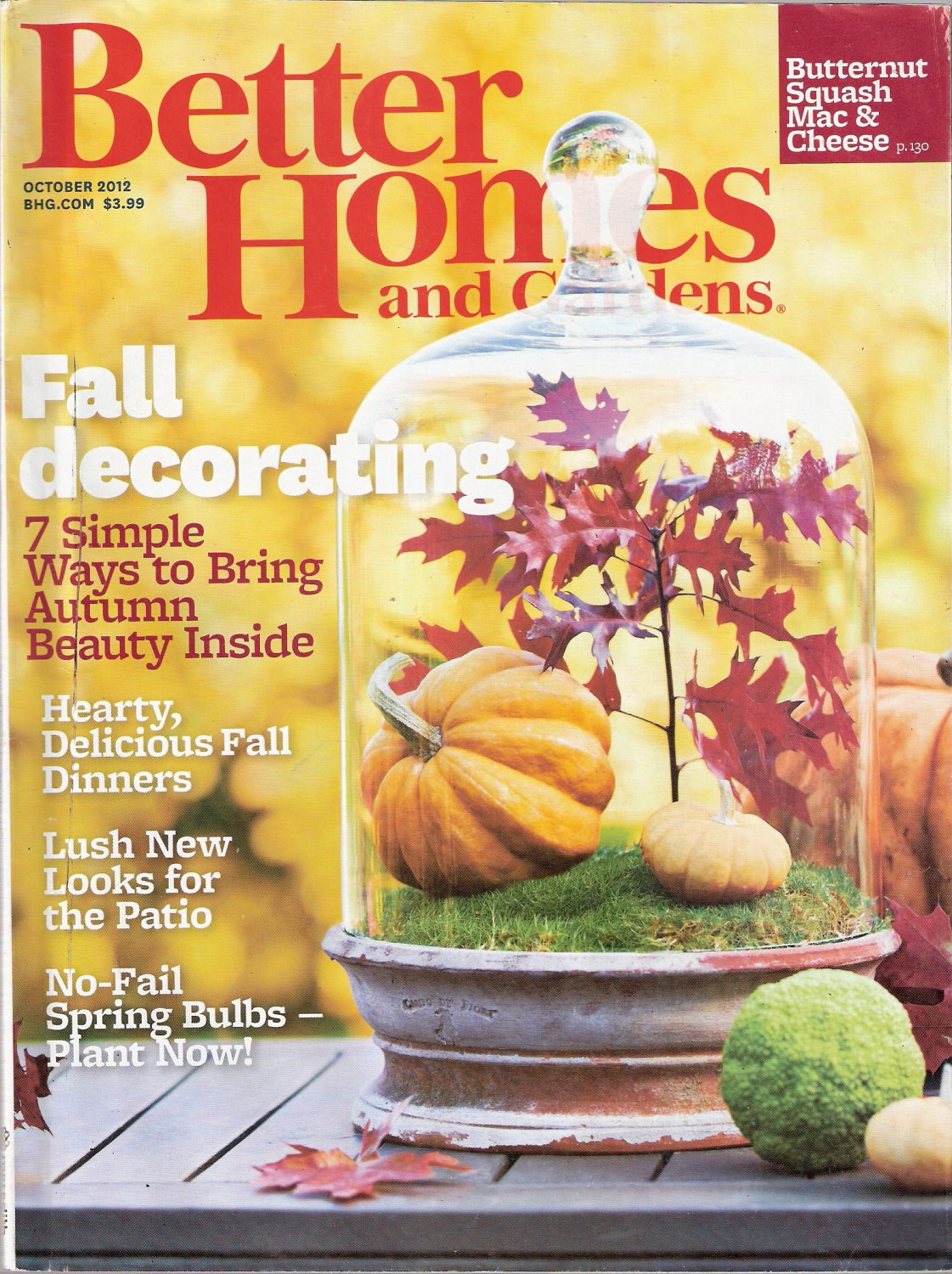 Better Homes And Gardens Magazine June 2017 Edition: Better Homes And Gardens Magazine October 2012 Fall Decorating