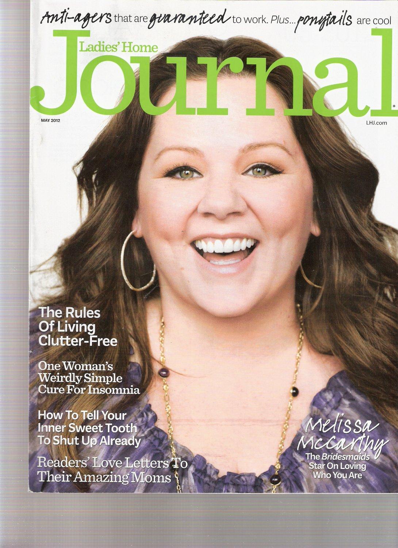 Ladies' Home Journal Magazine May 2012 Melissa Mccarthy