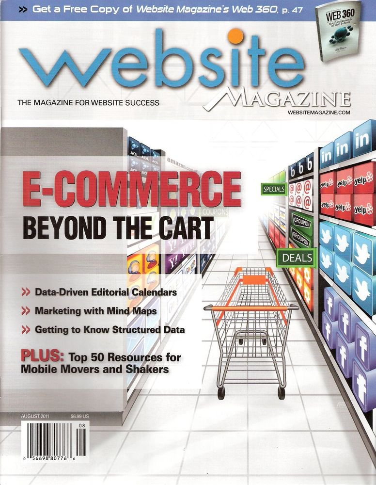 Website Magazine  August 2011 E-Commerce Beyond the Cart