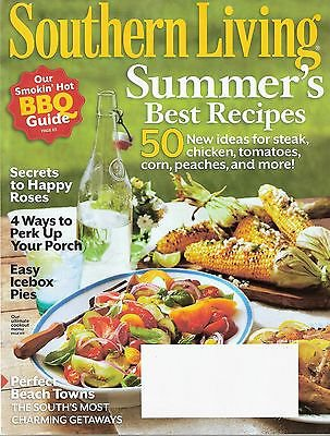 Southern Living Magazine June 2012 Summer's Best Recipes
