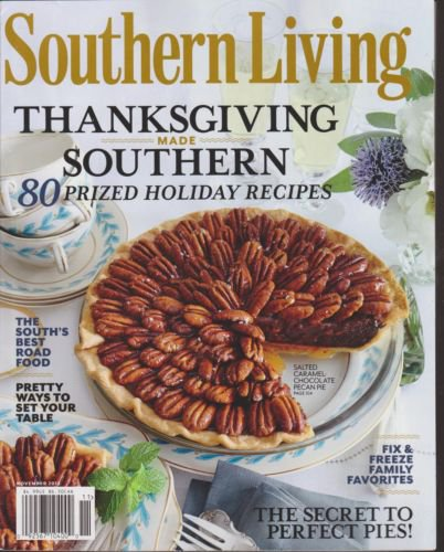 Southern Living Magazine November 2013 Thanksgiving Made Southern