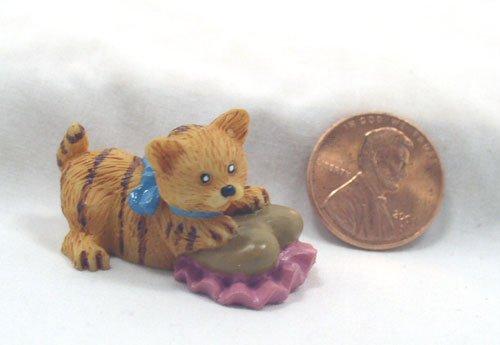 Tabby Kitten 1:12 Dollhouse Miniature