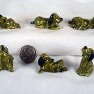 Cartoon Dogs 1:12 Dollhouse Miniatures