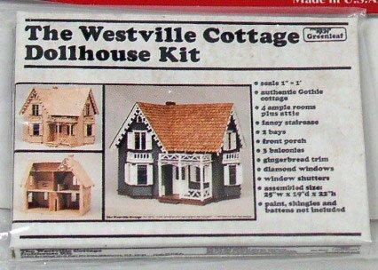 Dollhouse Kit Replica 1:12 scale Dollhouse Miniature