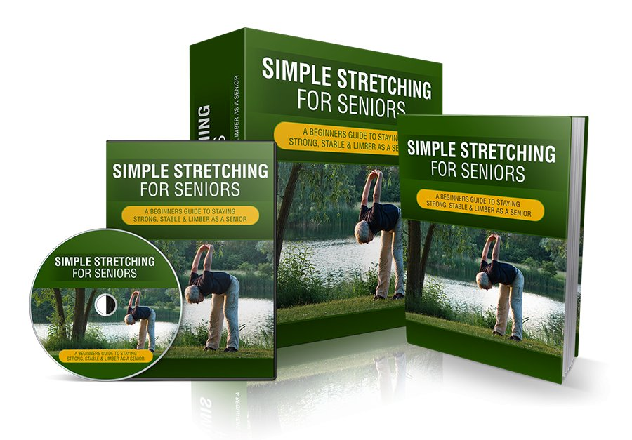 Simple Stretching for seniors | optimal health and fitness - eBook