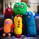 Huggable Numberblocks One to Five Crochet Doll