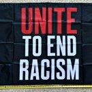 Black Lives Matter Flag Untie Racism Biden Trump Sign Poster 3x5ft
