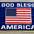 Donald Trump Flag 2024 God Bless America USA Navy Army Police Sign 3x5ft