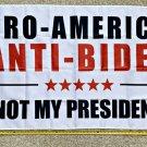 Donald Trump Flag 2024 Don Jr Ivanka Anti Biden W Sign Poster 3x5ft