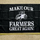 Donald Trump Flag Make Our Farmers Great USA 3x5' Sign John Deere