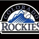 Colorado Rockies Baseball Club Black Flag 3X5Ft Banner USA Polyester with Brass Grommets