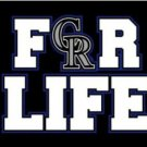 Colorado Rockies For Life Flag 3X5Ft Banner USA Polyester with Brass Grommets