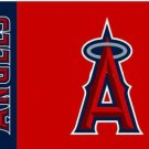 Los Angeles Angels Custom USA Flag 3X5Ft Banner USA Polyester with Brass Grommets