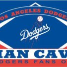 Los Angeles Dodgers Man Cave Flag 3X5Ft Banner USA Polyester with Brass Grommets
