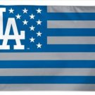 Los Angeles Dodgers Star Flag 3X5Ft Banner USA Polyester with Brass Grommets