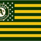 Oakland Athletics Nation US Star Flag 3X5Ft Banner USA Polyester with Brass Grommets
