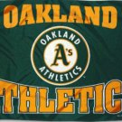 Oakland Athletics Sport Flag 3X5Ft Banner USA Polyester with Brass Grommets