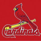 St. Louis Cardinals Red US Flag 3X5Ft Banner USA Polyester with Brass Grommets