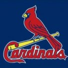 St. Louis Cardinals Blue Flag 3X5Ft Banner USA Polyester with Brass Grommets