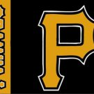 Pittsburgh Pirates Flag Baseball 3X5Ft Banner USA Polyester with Brass Grommets