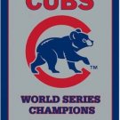 Digital print Chicago Cubs champions Flag 3X5Ft Banner USA Polyester with Brass Grommets