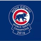 Chicago Cubs Holy Cow WORLD SERIES CHAMPIONS Flag 3X5Ft Banner USA Polyester with Brass Grommets