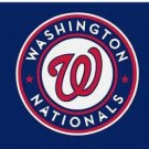 Washington Nationals Custom Flag 3X5Ft Banner USA Polyester with Brass Grommets
