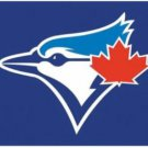 Toronto Blue Jays US Flag Blue 3X5Ft Banner USA Polyester with Brass Grommets