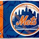New York Mets US flag 3X5Ft Banner USA Polyester with Brass Grommets