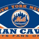 New York Mets Man Cave flag 3X5Ft Banner USA Polyester with Brass Grommets