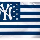 New York Yankees Star and Stripes flag 3X5Ft Banner USA Polyester with Brass Grommets