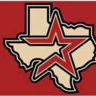 Houston Astros US flag 3X5Ft Banner USA Polyester with Brass Grommets - 13