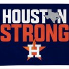 Houston Astros Strong flag 3X5Ft Banner USA Polyester with Brass Grommets - 2