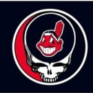 Cleveland Indians Dead Skull Black flag 3X5Ft Banner USA Polyester with Brass Grommets