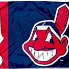 Cleveland Indians Baseball flag 3X5Ft Banner USA Polyester with Brass Grommets