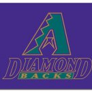 Arizona Diamondbacks Logo Purple flag 3X5Ft Banner USA Polyester with Brass Grommets