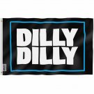 Dilly Dilly Flag - Tailgates and Parties Beer Flag with Brass Grommets 3X5Ft Banner USA Polyester