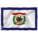 West Virginia State Flag - West Virginia WV Flag with Brass Grommets 3X5Ft Banner USA
