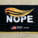 Joe Biden Flag NOPE Biden Harris 2020 USA Clinton Sign Poster 3x5ft