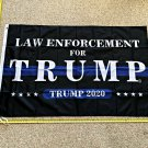 Donald Trump Flag Law Enforcement for Trump 3x5ft Army Police Cop