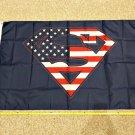 Superman USA Flag Super Women Marvel Rare Banner Poster 3x5ft