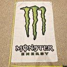 Monster Energy 3x5ft Flag vertical Green M Power Drink Poster
