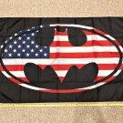 Batman USA 3x5ft Flag Marvel Batman Oval Rare Bat women Poster