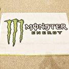 Monster Energy Flag 3x5ft Green Horizontal Power Drink Rare Poster
