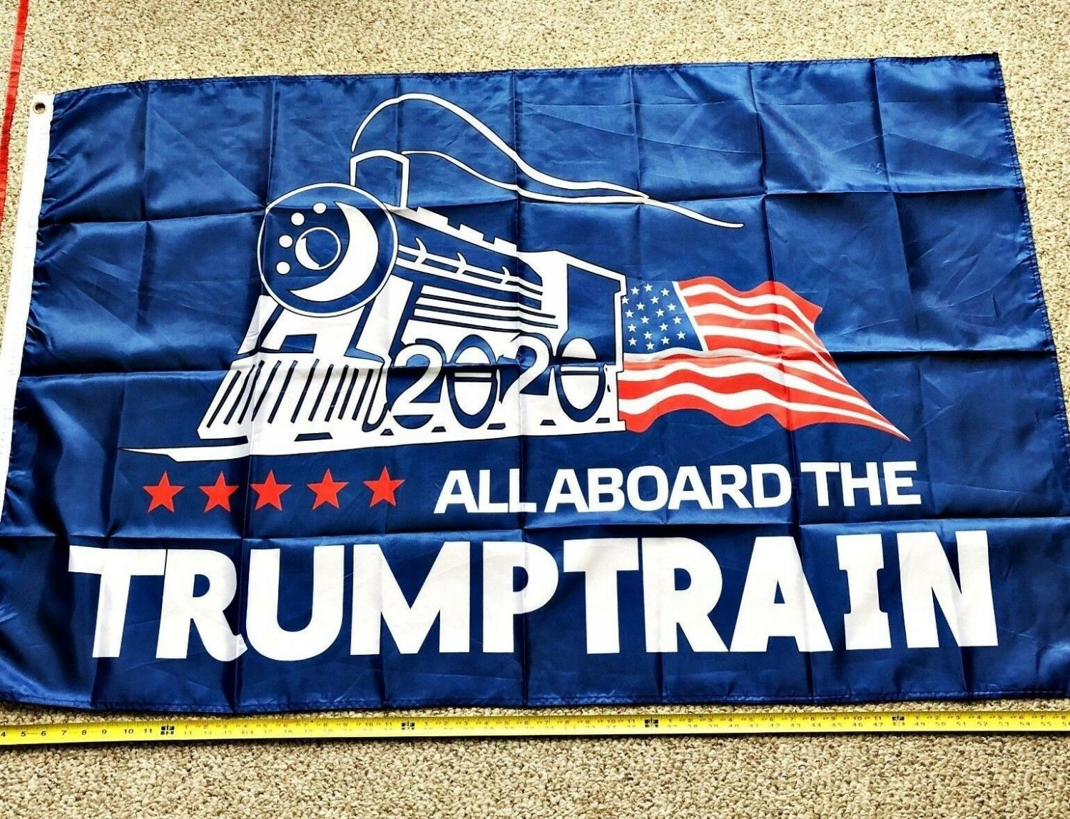 Trump 2020 Flag Blue 3x5Ft Make America Great Again President USA